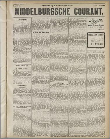 Middelburgsche Courant 1921-11-02