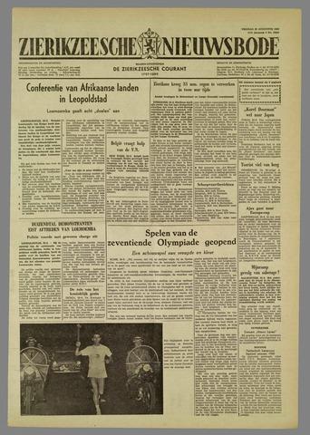 Zierikzeesche Nieuwsbode 1960-08-26