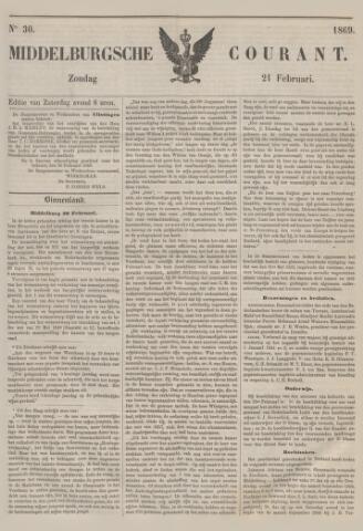 Middelburgsche Courant 1869-02-21