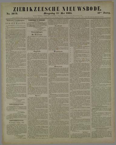 Zierikzeesche Nieuwsbode 1885-05-19
