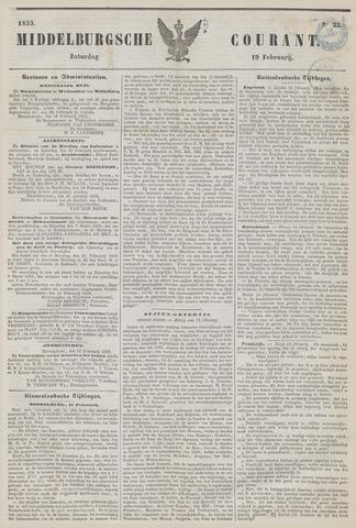 Middelburgsche Courant 1853-02-19