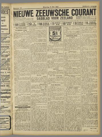 Nieuwe Zeeuwsche Courant 1922-05-15