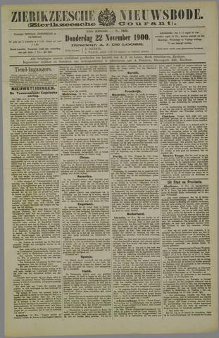 Zierikzeesche Nieuwsbode 1900-11-22