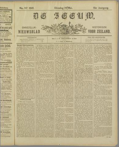 De Zeeuw. Christelijk-historisch nieuwsblad voor Zeeland 1901-05-14