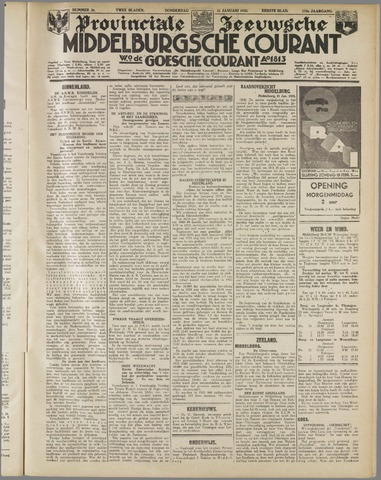 Middelburgsche Courant 1935-01-31