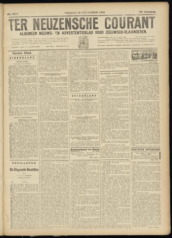 Ter Neuzensche Courant. Algemeen Nieuws- en Advertentieblad voor Zeeuwsch-Vlaanderen / Neuzensche Courant ... (idem) / (Algemeen) nieuws en advertentieblad voor Zeeuwsch-Vlaanderen 1932-11-25