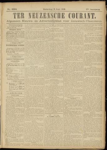 Ter Neuzensche Courant. Algemeen Nieuws- en Advertentieblad voor Zeeuwsch-Vlaanderen / Neuzensche Courant ... (idem) / (Algemeen) nieuws en advertentieblad voor Zeeuwsch-Vlaanderen 1918-06-08
