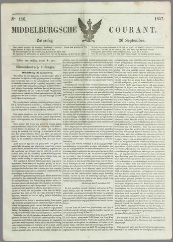 Middelburgsche Courant 1857-09-26