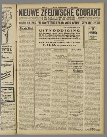 Nieuwe Zeeuwsche Courant 1925-09-12