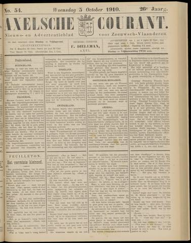 Axelsche Courant 1910-10-05