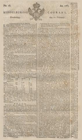 Middelburgsche Courant 1763-02-10