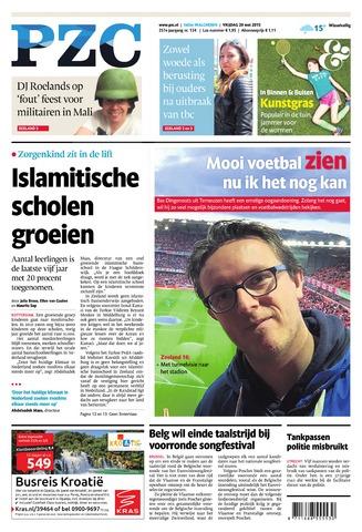 Provinciale Zeeuwse Courant 2015-05-29