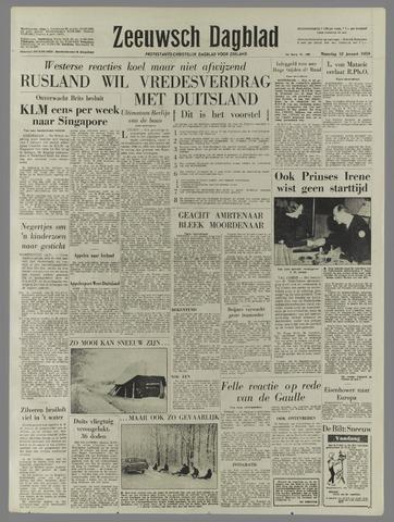 Zeeuwsch Dagblad 1959-01-12