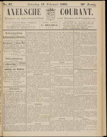 Axelsche Courant 1905-02-11