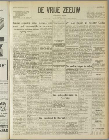 de Vrije Zeeuw 1958-05-28