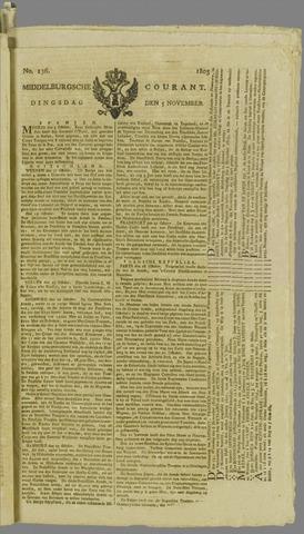 Middelburgsche Courant 1805-11-05