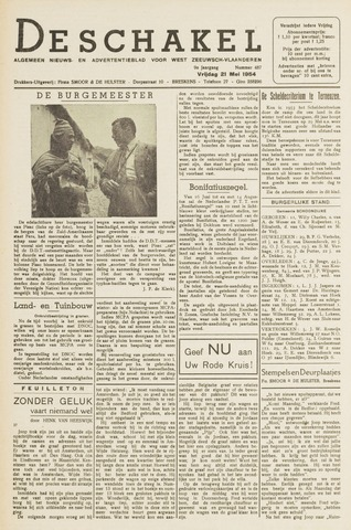 De Schakel 1954-05-21
