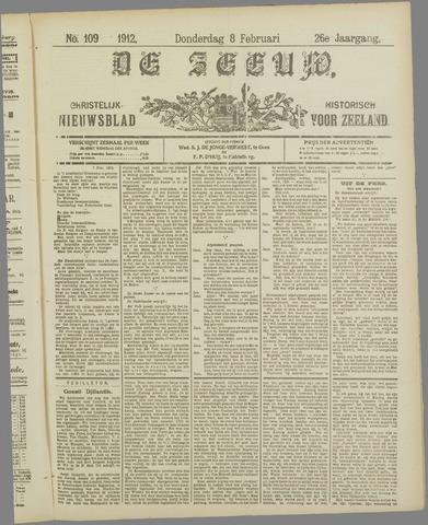 De Zeeuw. Christelijk-historisch nieuwsblad voor Zeeland 1912-02-08