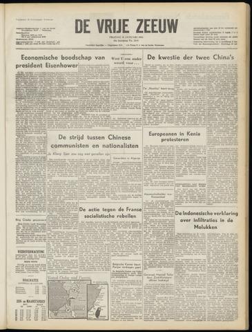 de Vrije Zeeuw 1955-01-21