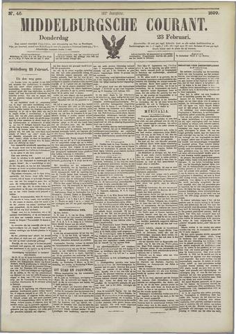 Middelburgsche Courant 1899-02-23