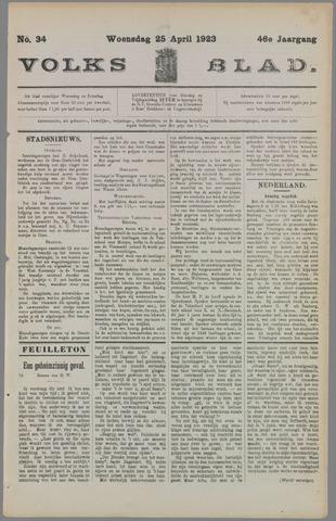Volksblad 1923-04-28