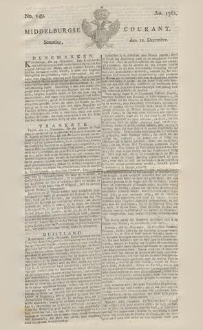 Middelburgsche Courant 1761-12-12