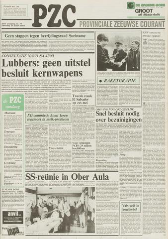 Provinciale Zeeuwse Courant 1984-03-31