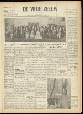 de Vrije Zeeuw 1956-02-28