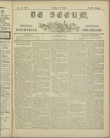 De Zeeuw. Christelijk-historisch nieuwsblad voor Zeeland 1897-10-23