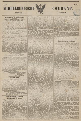 Middelburgsche Courant 1853-01-13