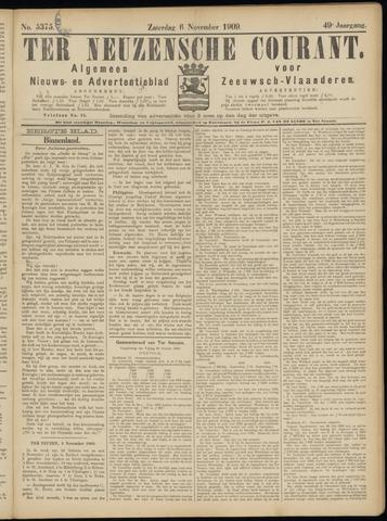 Ter Neuzensche Courant. Algemeen Nieuws- en Advertentieblad voor Zeeuwsch-Vlaanderen / Neuzensche Courant ... (idem) / (Algemeen) nieuws en advertentieblad voor Zeeuwsch-Vlaanderen 1909-11-06