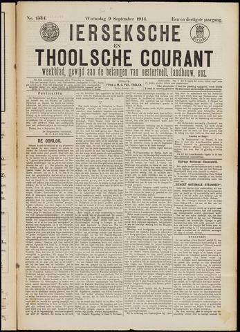 Ierseksche en Thoolsche Courant 1914-09-09