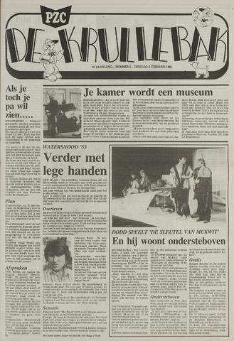 Provinciale Zeeuwse Courant katern Krullenbak (1981-1999) 1988-02-09
