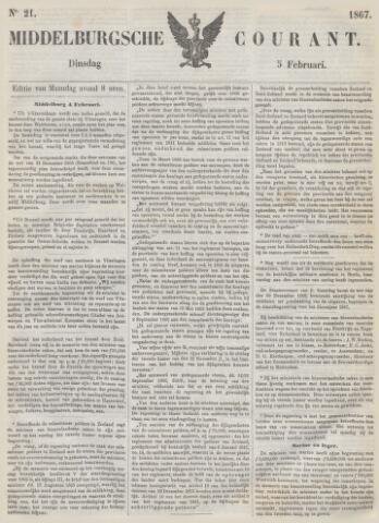 Middelburgsche Courant 1867-02-05