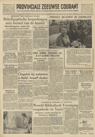 Provinciale Zeeuwse Courant 1957-05-13