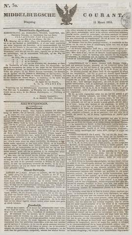 Middelburgsche Courant 1834-03-11