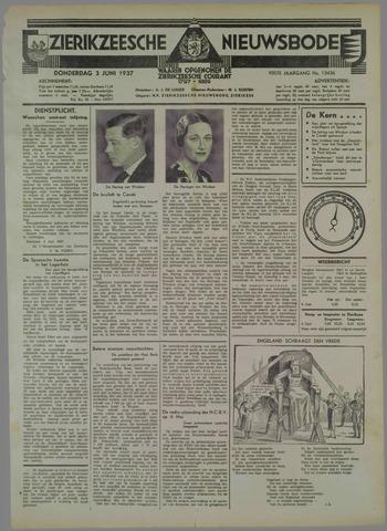 Zierikzeesche Nieuwsbode 1937-06-03