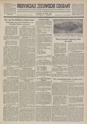 Provinciale Zeeuwse Courant 1941-08-29
