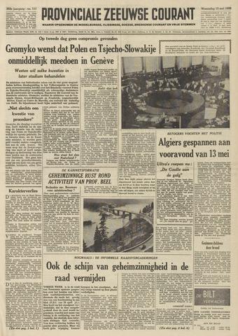 Provinciale Zeeuwse Courant 1959-05-13