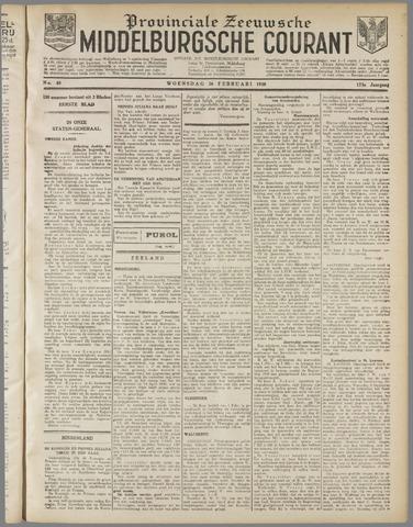 Middelburgsche Courant 1930-02-26