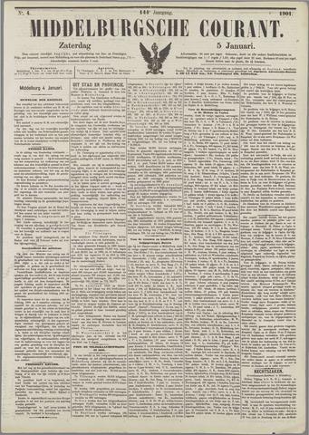 Middelburgsche Courant 1901-01-05