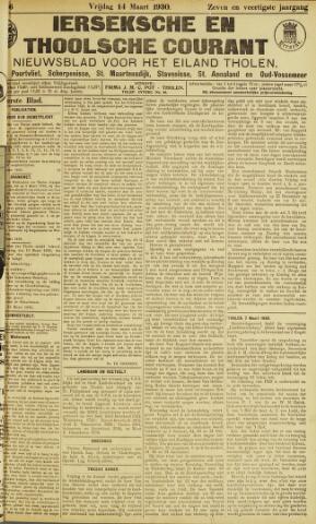 Ierseksche en Thoolsche Courant 1930-03-14
