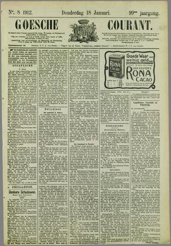Goessche Courant 1912-01-18