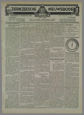 Zierikzeesche Nieuwsbode 1936-08-19