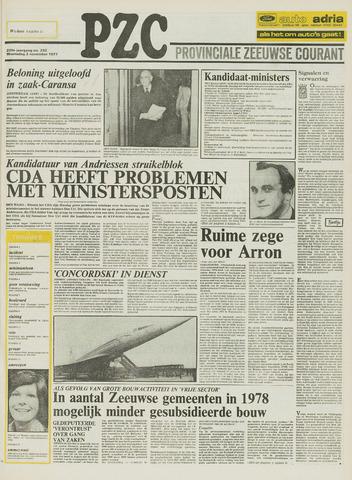 Provinciale Zeeuwse Courant 1977-11-02