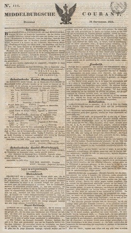 Middelburgsche Courant 1834-09-16