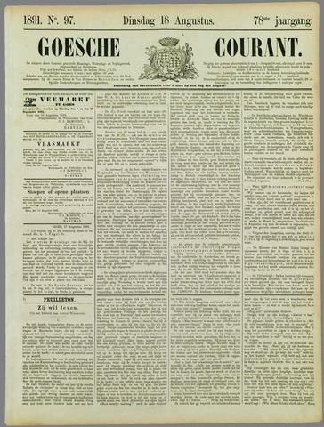 Goessche Courant 1891-08-18