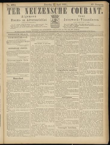 Ter Neuzensche Courant. Algemeen Nieuws- en Advertentieblad voor Zeeuwsch-Vlaanderen / Neuzensche Courant ... (idem) / (Algemeen) nieuws en advertentieblad voor Zeeuwsch-Vlaanderen 1901-04-27