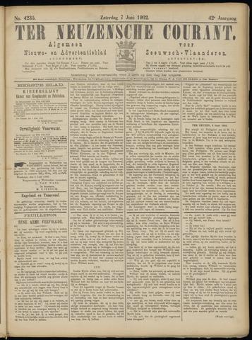 Ter Neuzensche Courant. Algemeen Nieuws- en Advertentieblad voor Zeeuwsch-Vlaanderen / Neuzensche Courant ... (idem) / (Algemeen) nieuws en advertentieblad voor Zeeuwsch-Vlaanderen 1902-06-07