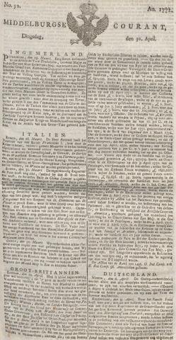 Middelburgsche Courant 1771-04-30